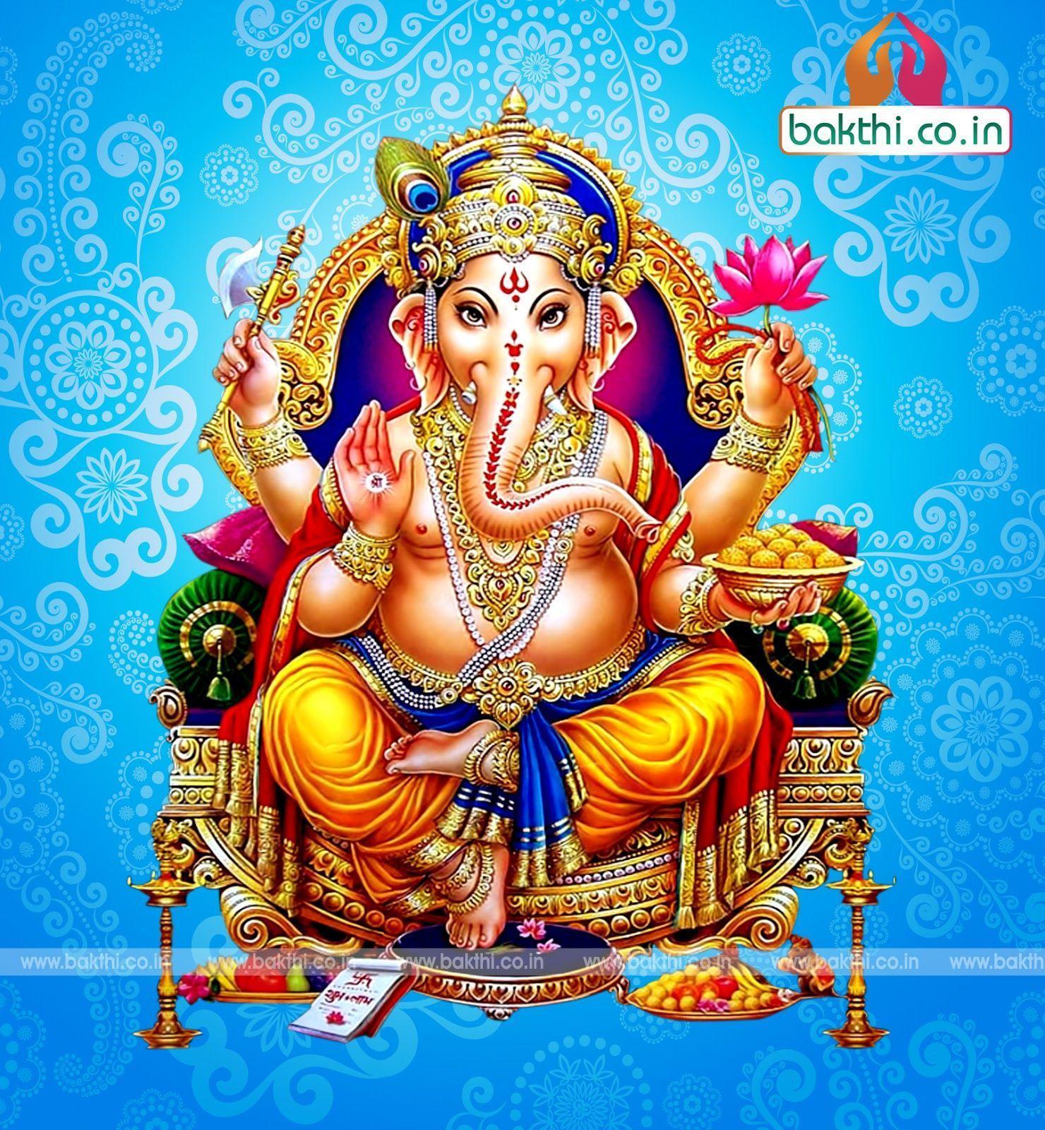 Hình nền 1480x1600 Lord Vinayagar