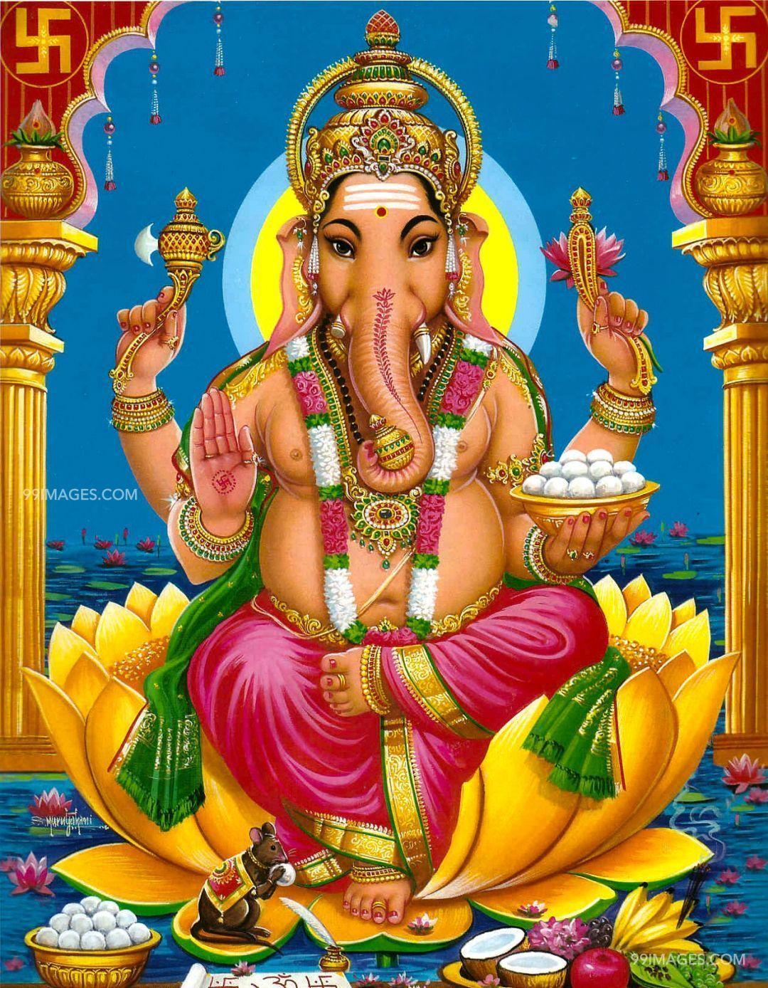 1080x1388 God Vinayagar (tabletaiyar, Ganpati) Ảnh HD mới nhất