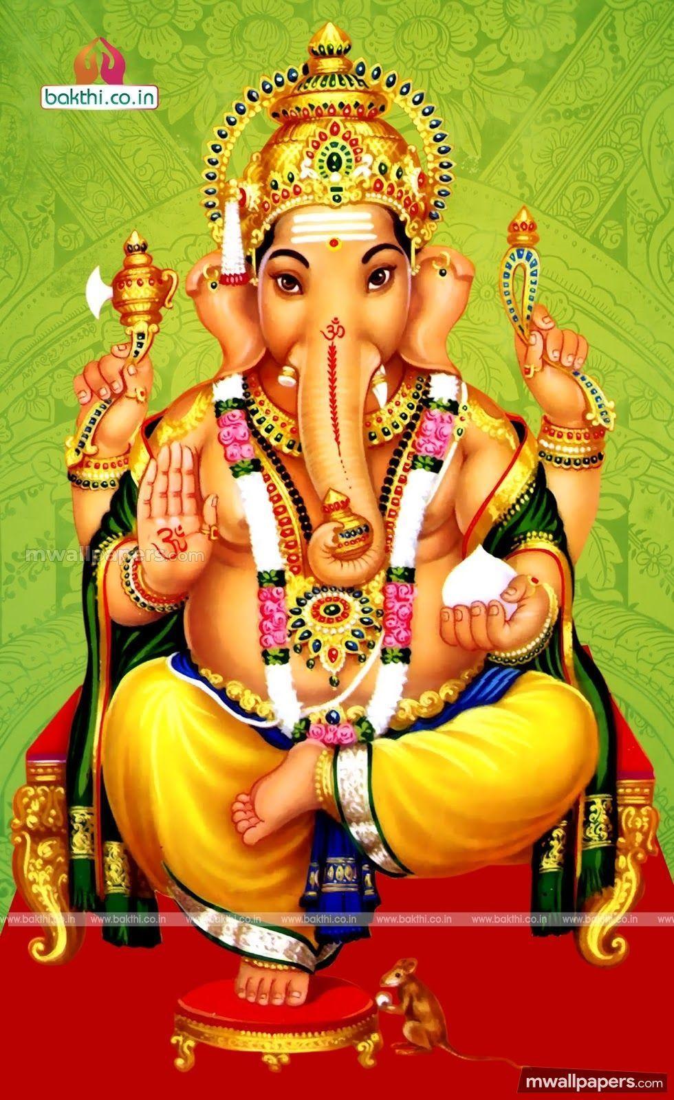 Hình nền ảnh HD mới nhất 980x1600 God Vinayagar (1080p) - Vinayagar