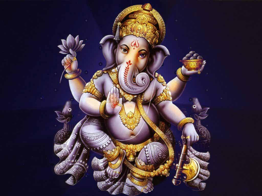 1024x768 Lord Vinayagar hình nền