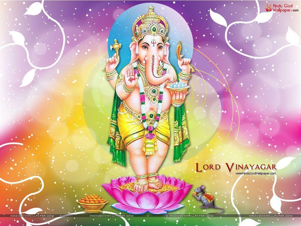 Tải xuống miễn phí hình nền 1024x768 Vinayagar cho máy tính để bàn.  Ảnh Ganesha