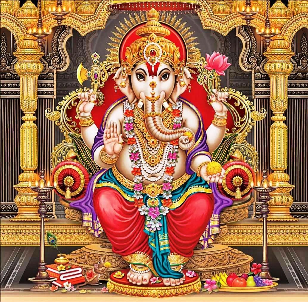 1034x1016 Tải xuống God Vinayagar Wallpaper HD, HD Background Download