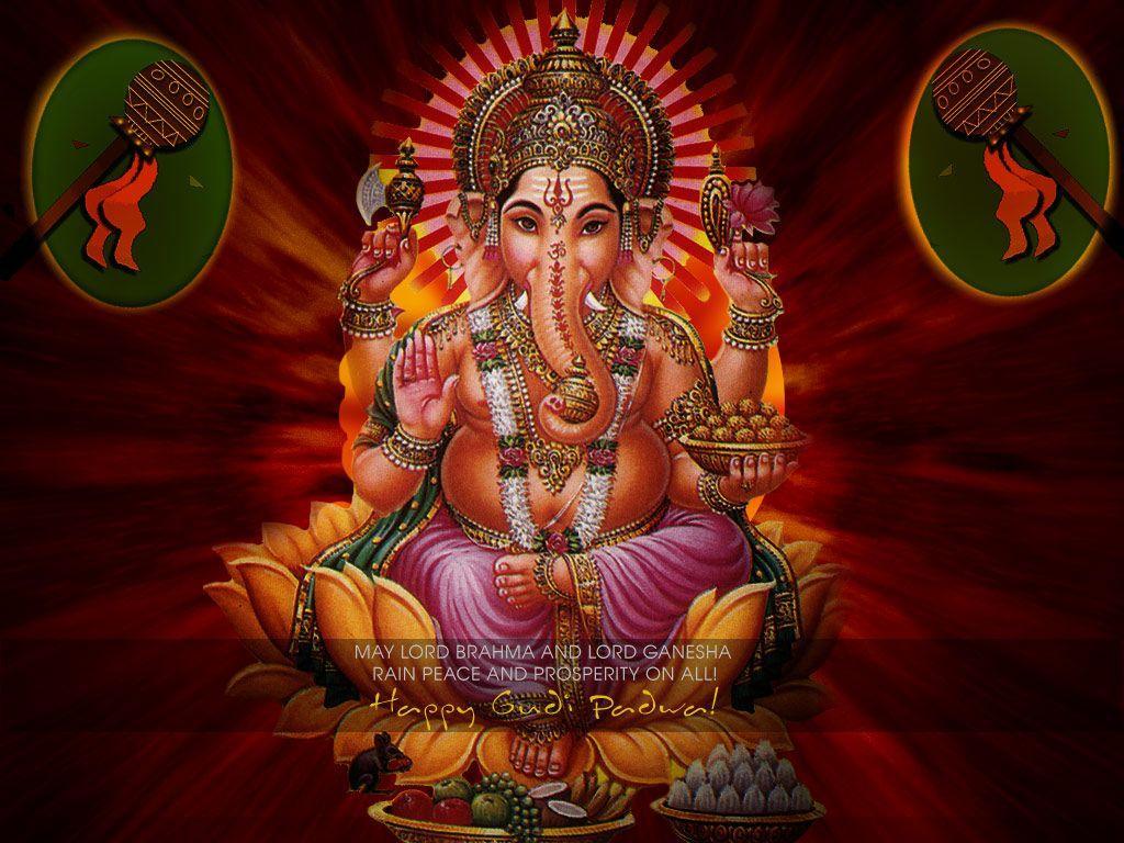1024x768 Hình ảnh thần Vinayagar - Hình ảnh Vinayagar HD 3D - 1024x768