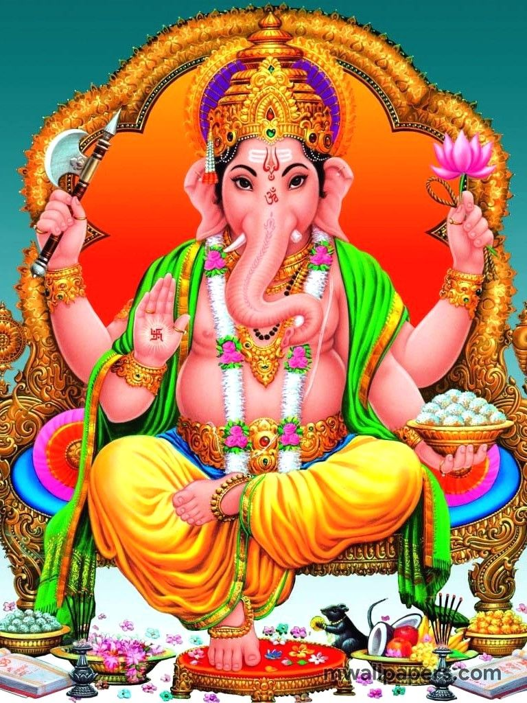 Hình ảnh HD 768x1024 Lord Ganesha (Ganapati, Vinayagar, Pillaiyar)