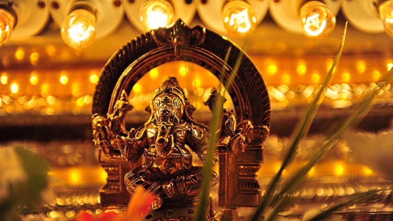 1366x768 Ganesha Vinayagar Ảnh - Tôn giáo - Hình nền 1366x768