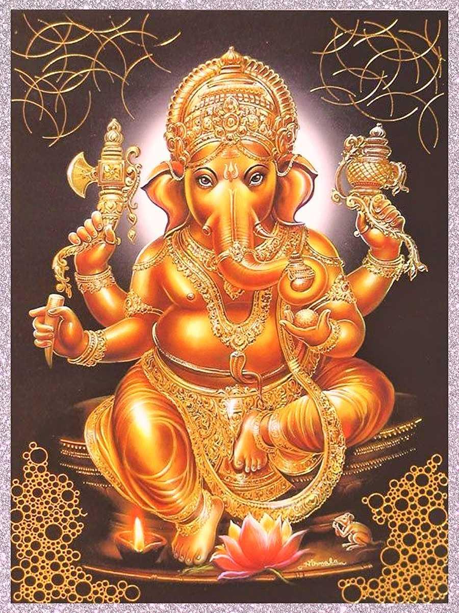 Hình nền HD 900x1202 Vinayaka - Shri Ganesh Chào buổi sáng - HD