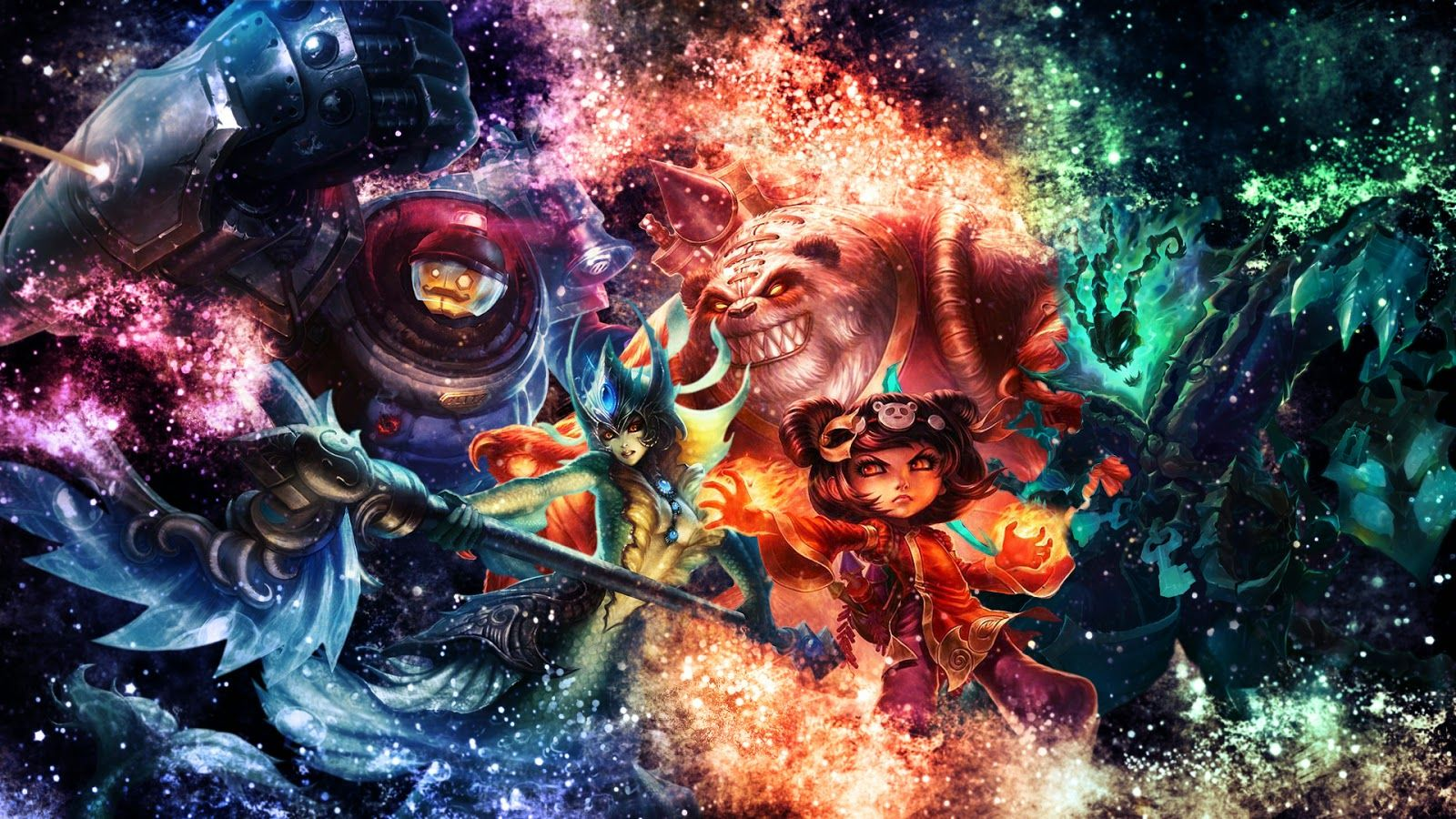League Of Legends Desktop Wallpapers Top Free League Of Legends