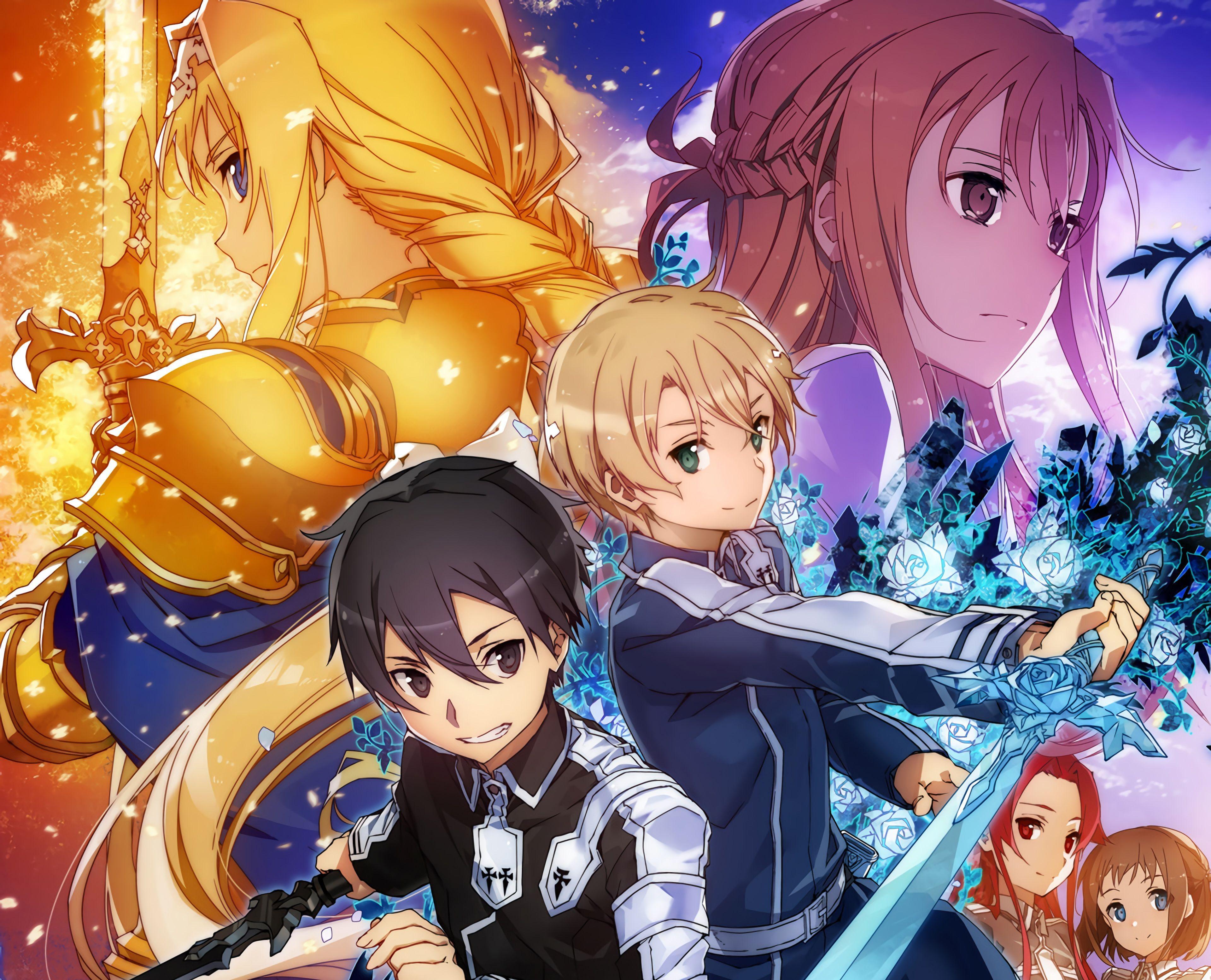 Sword Art Online 4k Wallpapers Top Free Sword Art Online 4k Backgrounds Wallpaperaccess