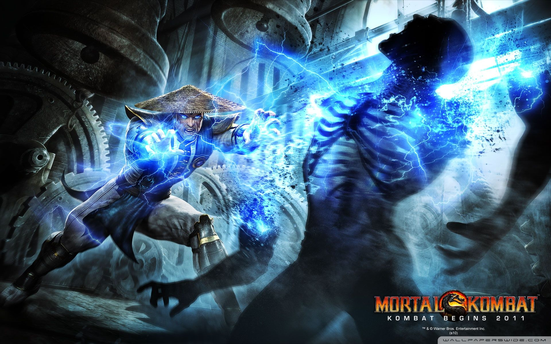 Mortal Kombat Raiden Wallpapers Top Free Mortal Kombat