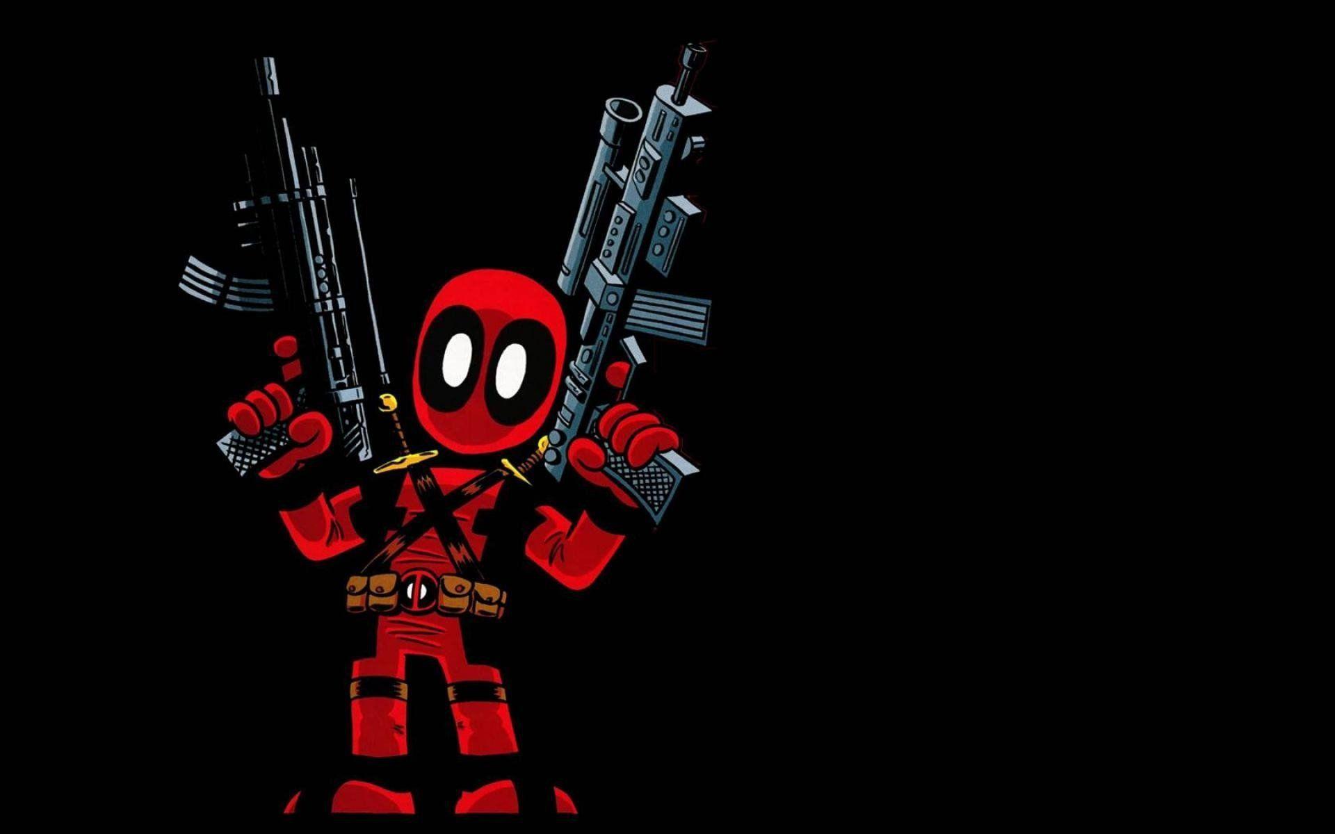 Cartoon Deadpool Wallpapers Top Free Cartoon Deadpool Backgrounds Wallpaperaccess