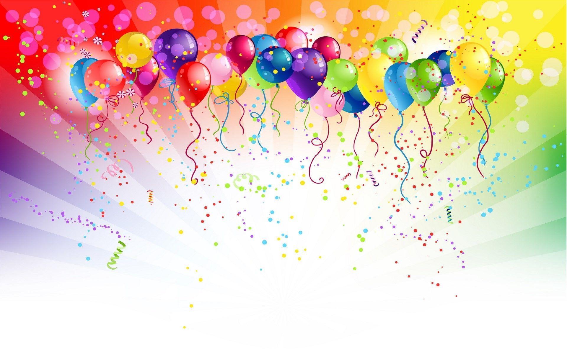 Birthday Balloons Wallpapers Top Free Birthday Balloons