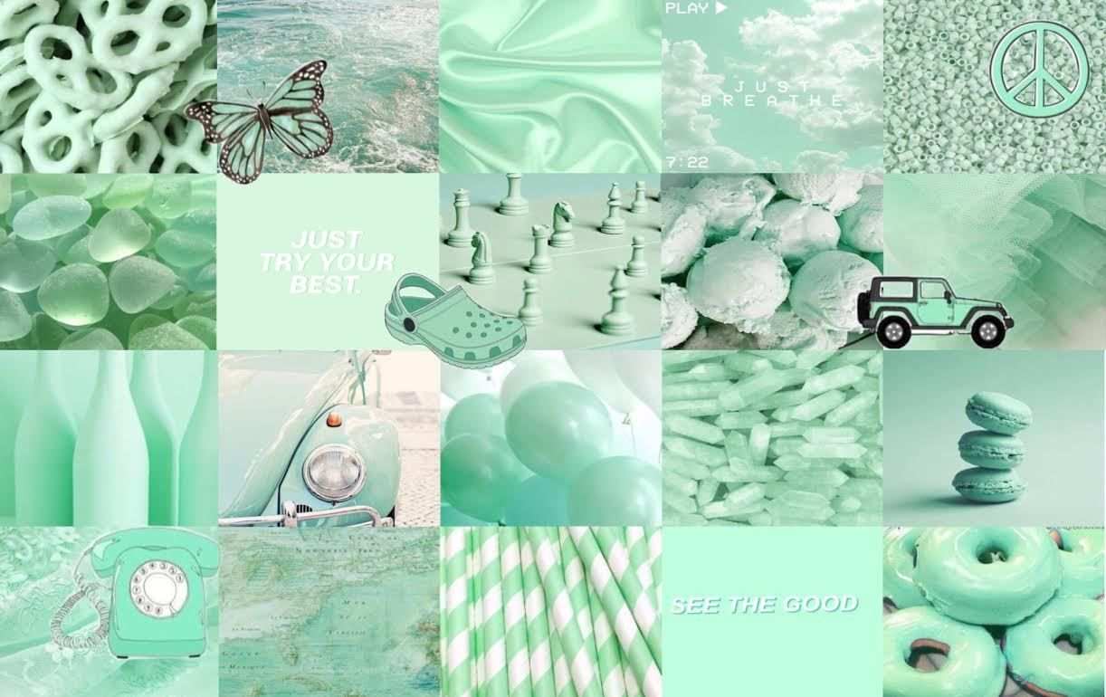 Green Aesthetic Laptop Wallpapers Top Free Green Aesthetic