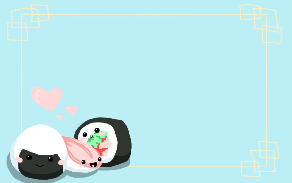 Kawaii Sushi Wallpapers Top Free Kawaii Sushi Backgrounds Wallpaperaccess