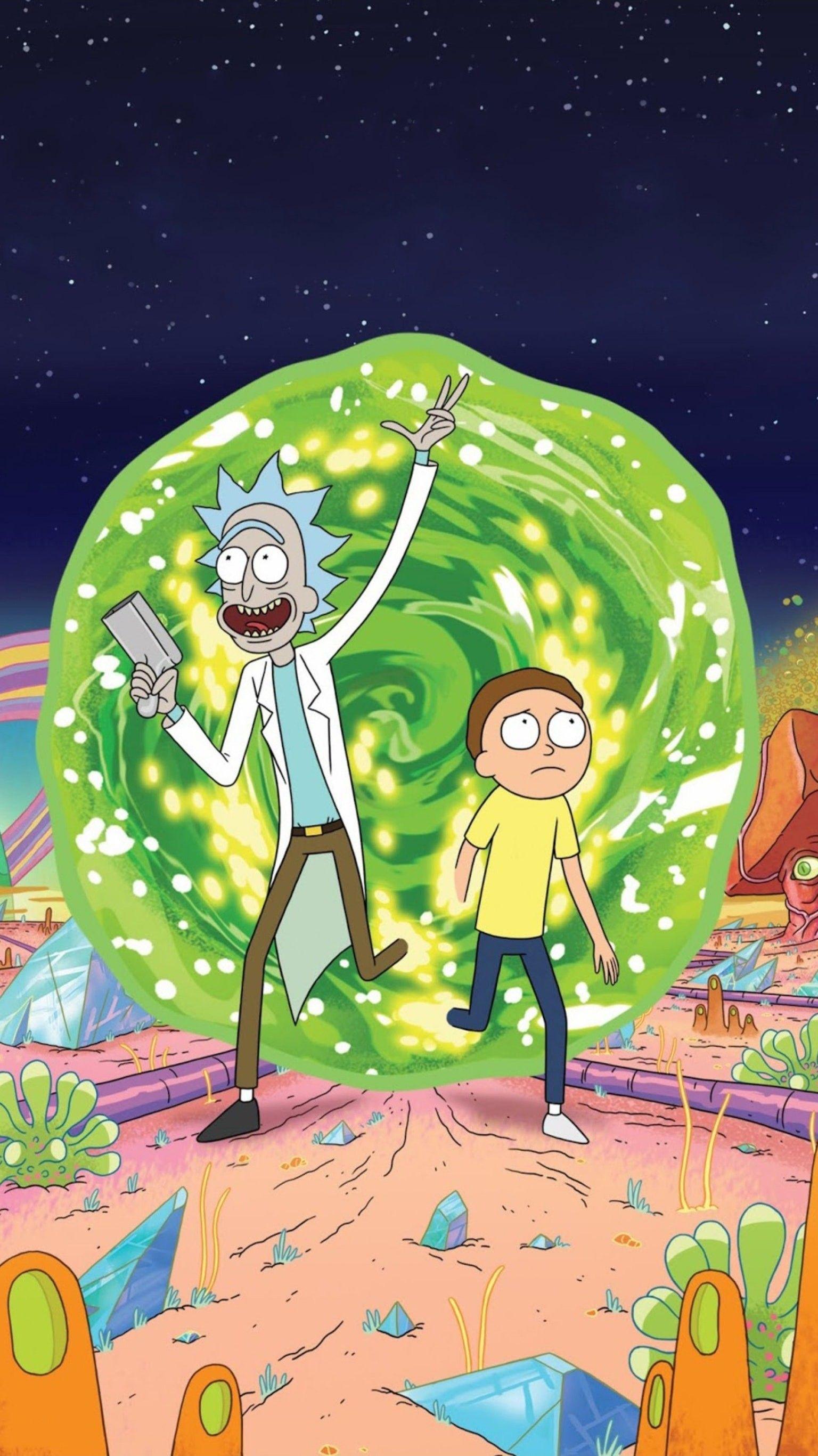 Supreme Rick And Morty Wallpapers - Top Free Supreme Rick ...