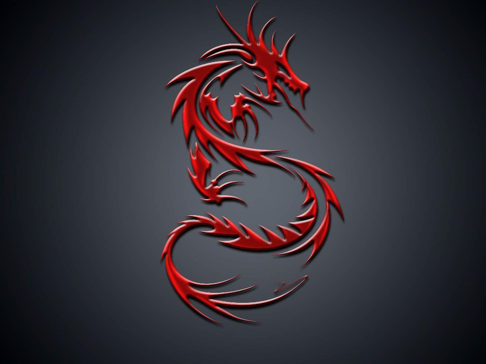 wallpaper mortal kombat dragon logo