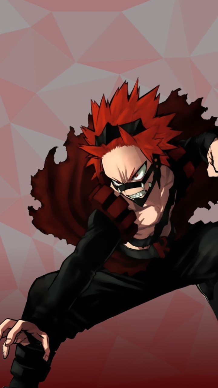 My Hero Academia Wallpaper Red Riot