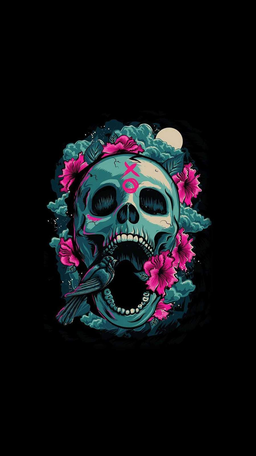 Abstract Skull Cool Iphone Wallpapers Top Free Abstract Skull Cool Iphone Backgrounds Wallpaperaccess