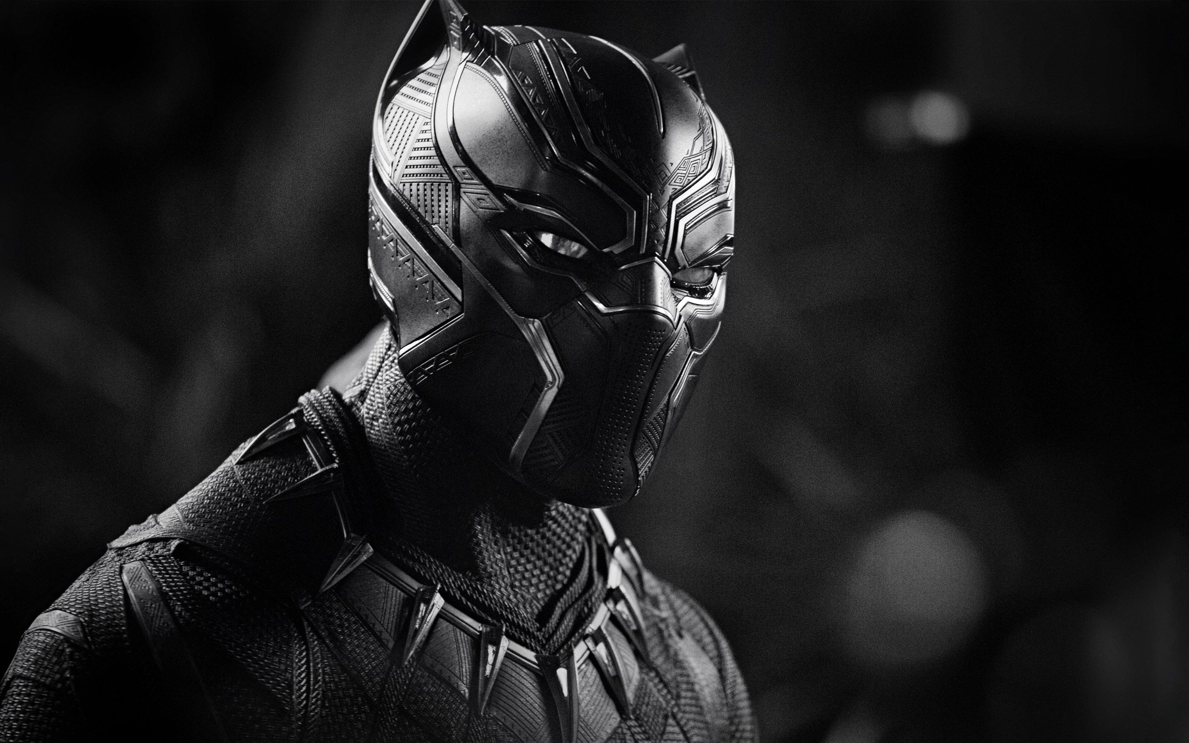 Black Panther 4k Ultra Hd Dark Wallpapers Top Free Black