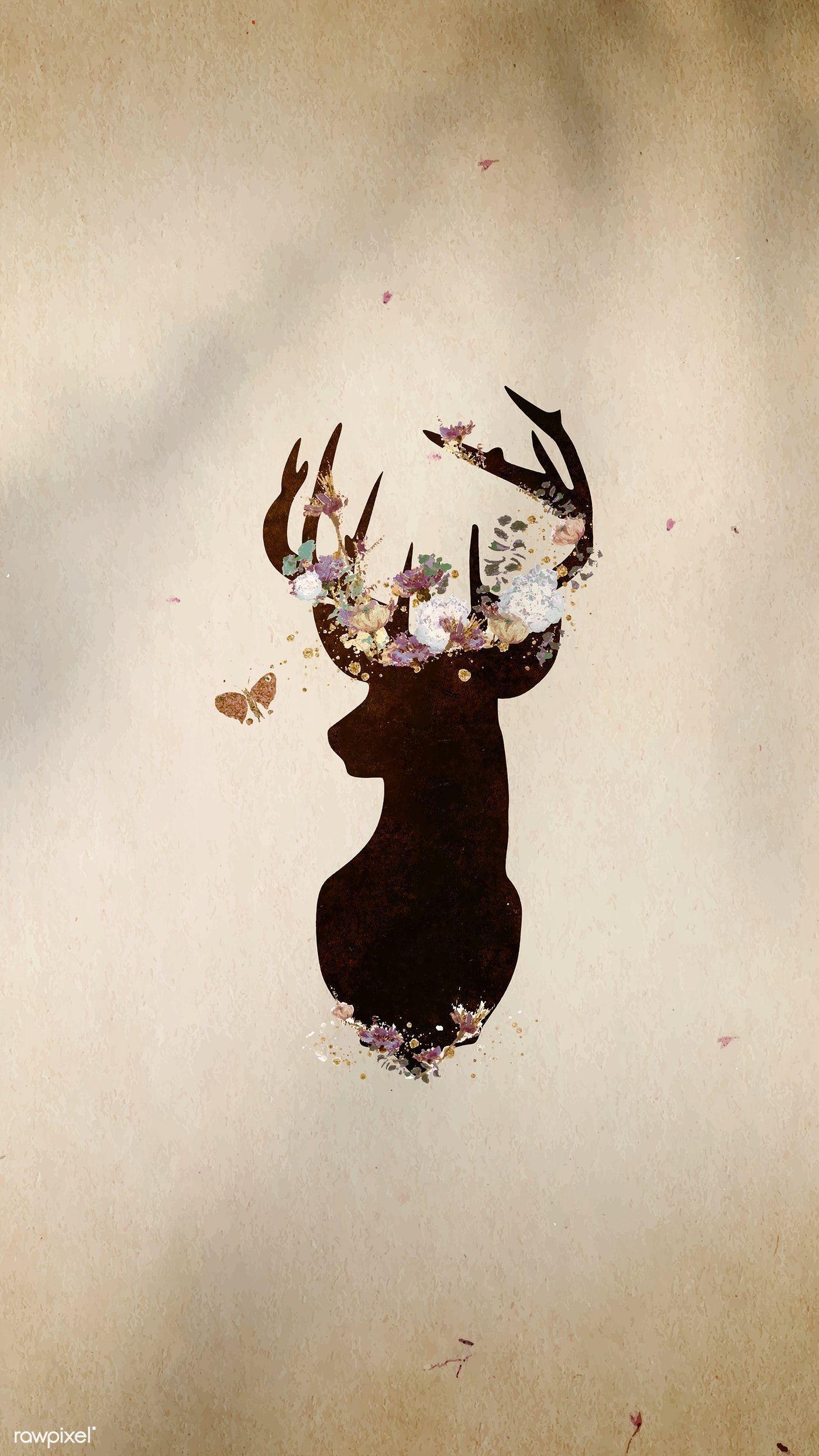 Cute Deer Wallpapers - Top Free Cute ...