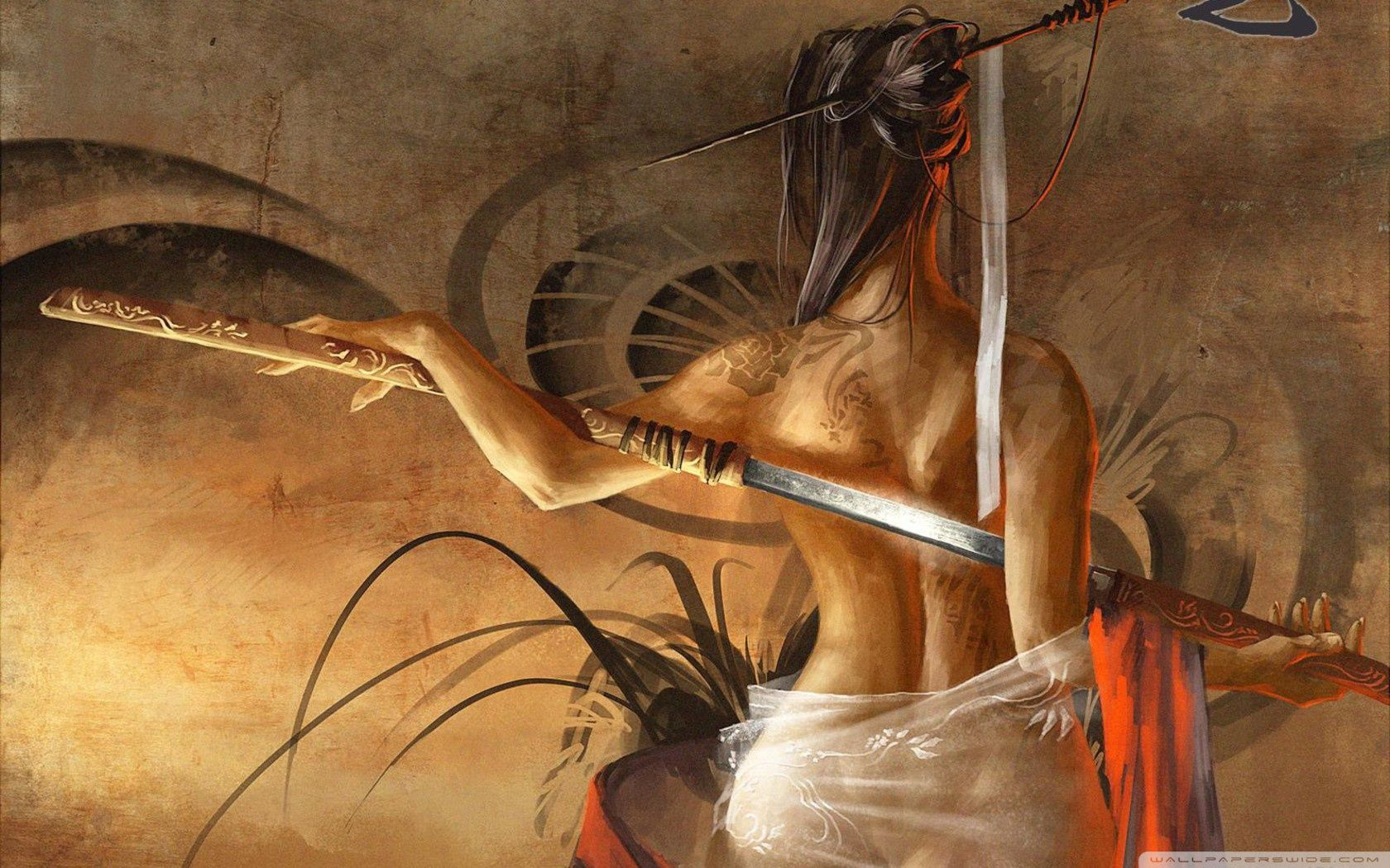 Pubg Trenchcoat Girl 4k Hd Games 4k Wallpapers Images: Top Free Samurai Art Backgrounds