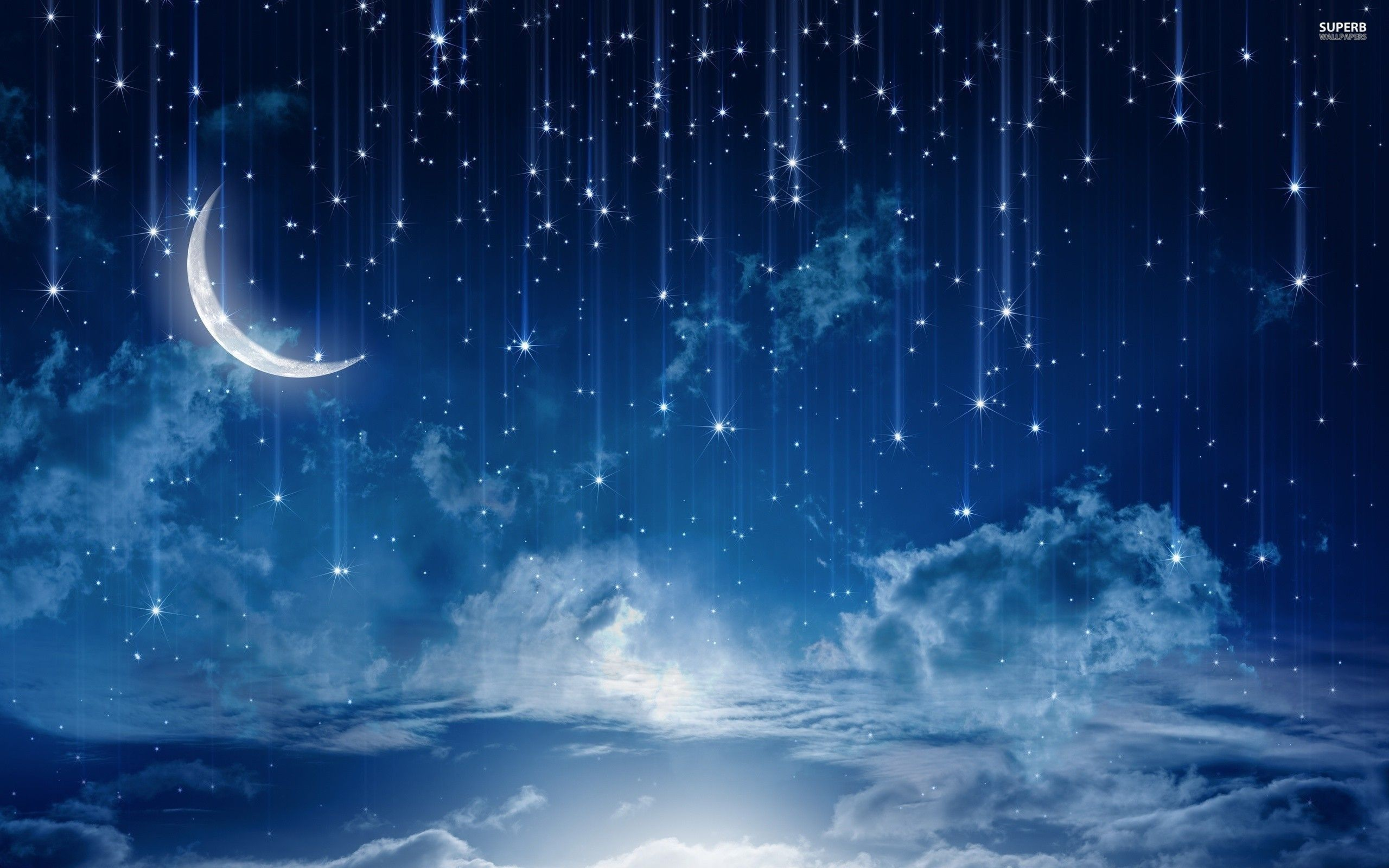 Sky Wallpapers: Starry Night Sky Wallpapers