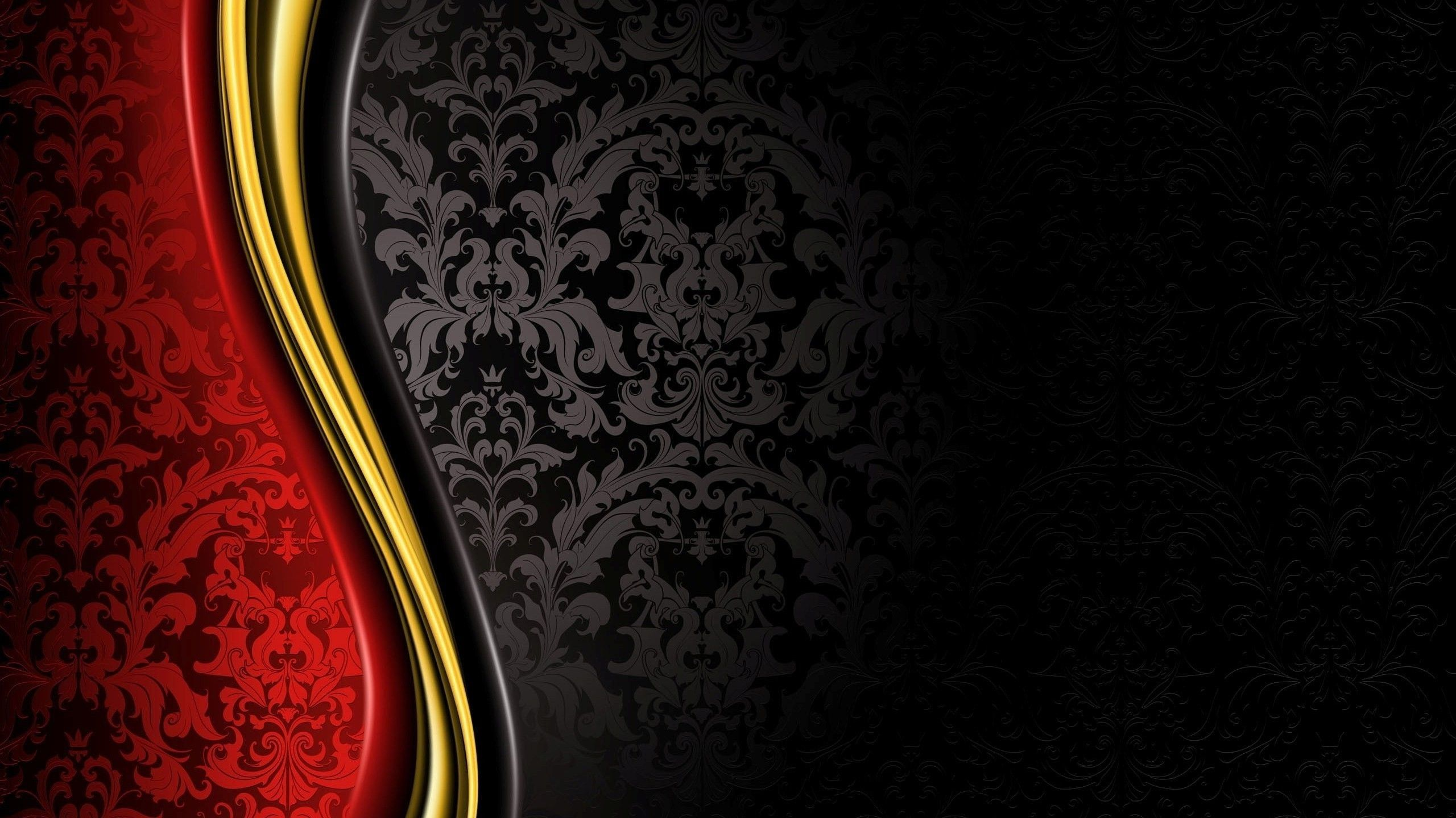 red black gold wallpaper