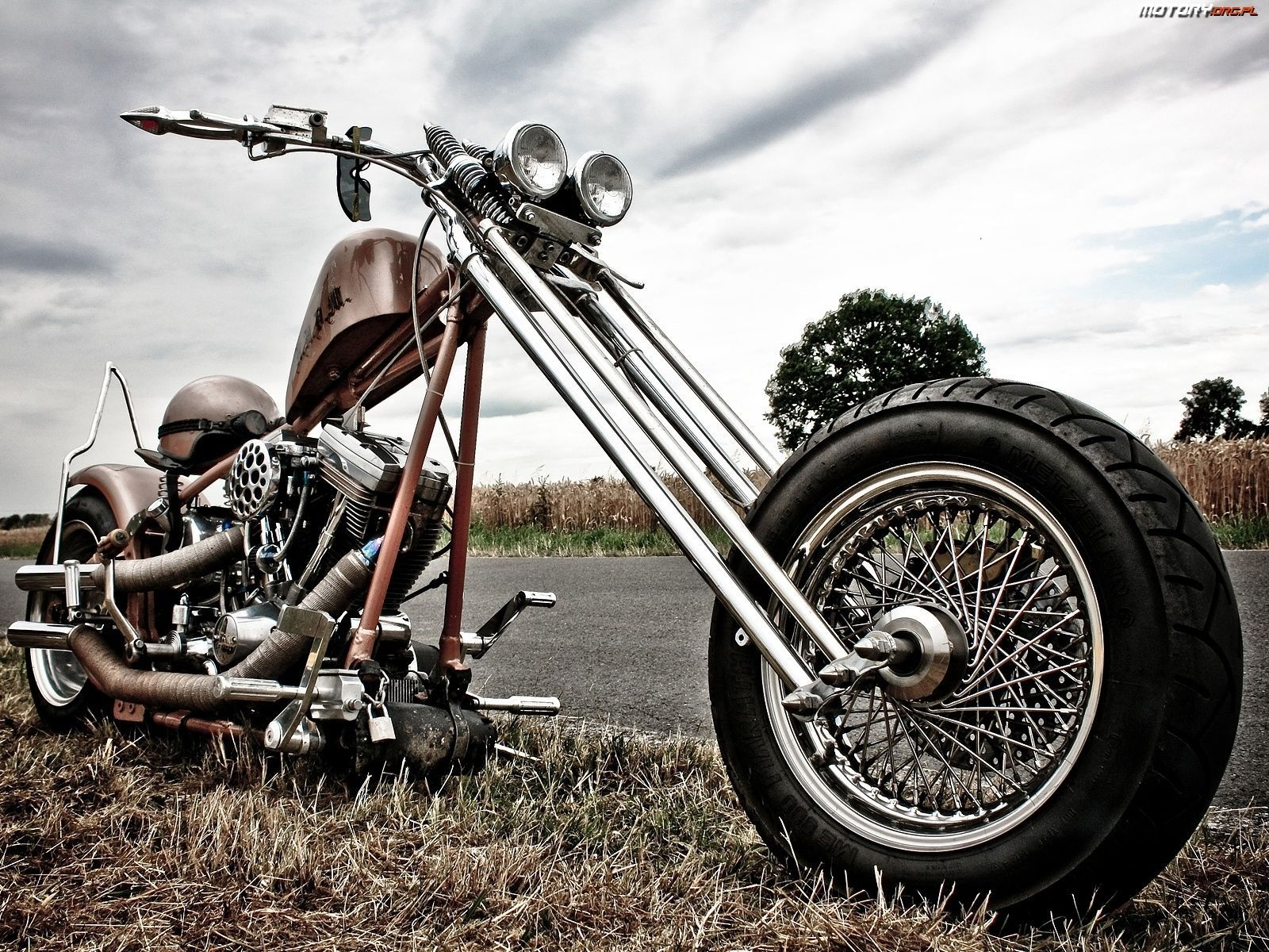 Harley Davidson Chopper Wallpapers Top Free Harley Davidson Chopper Backgrounds Wallpaperaccess