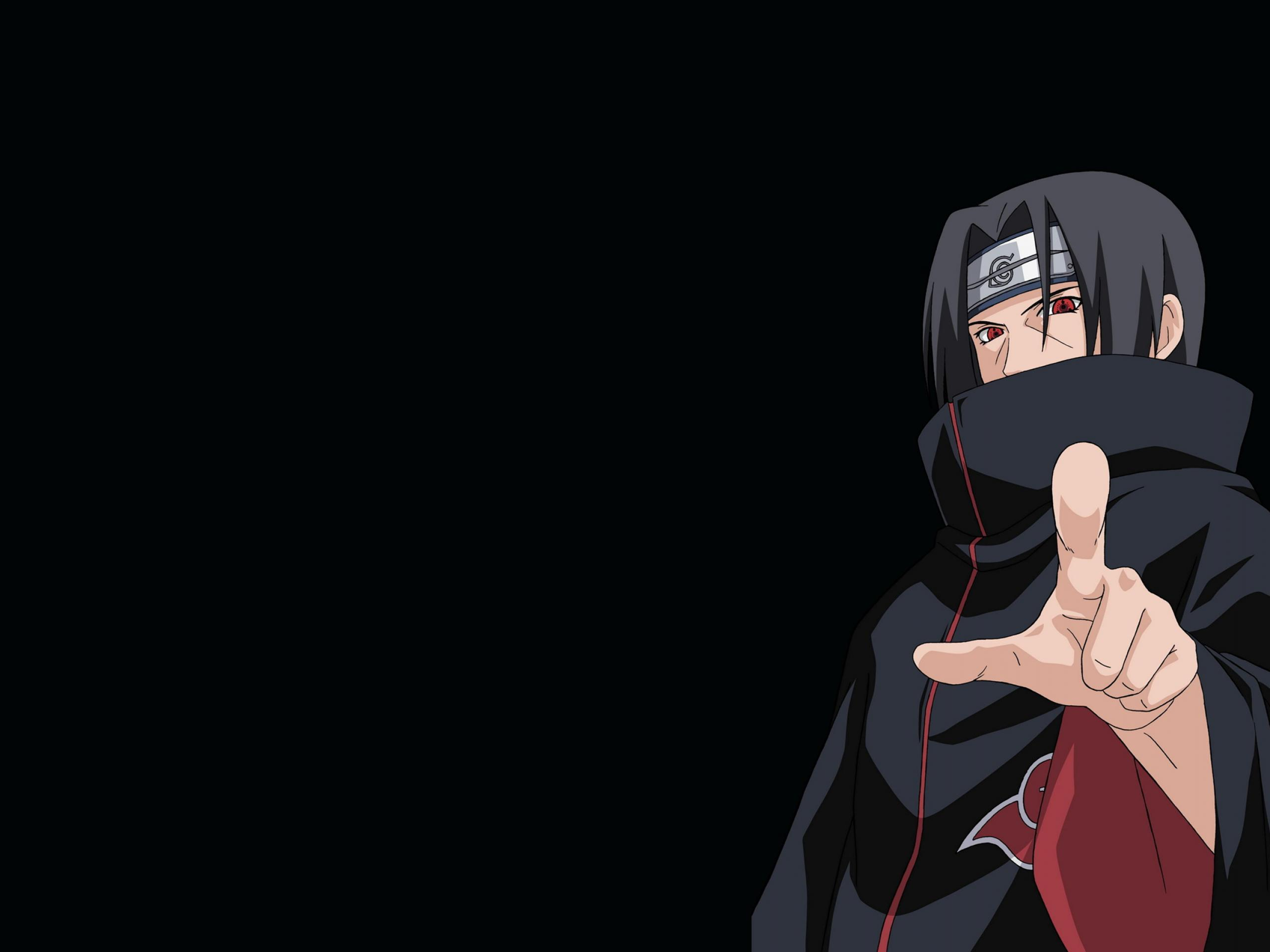Itachi Black Wallpapers Top Free Itachi Black Backgrounds Wallpaperaccess