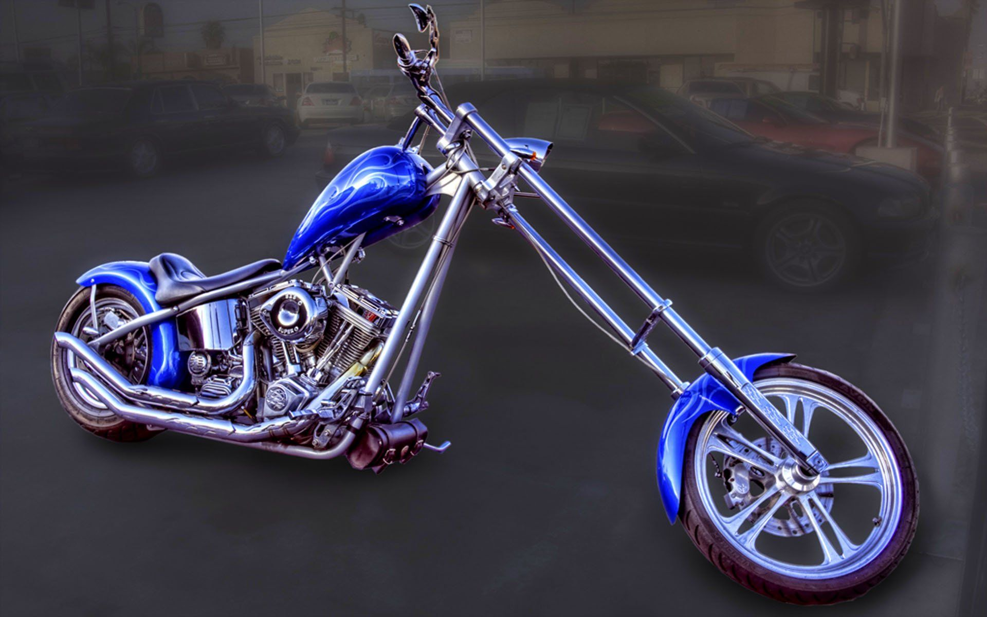 Harley davidson chopper wallpapers top free harley - Old school harley davidson wallpaper ...