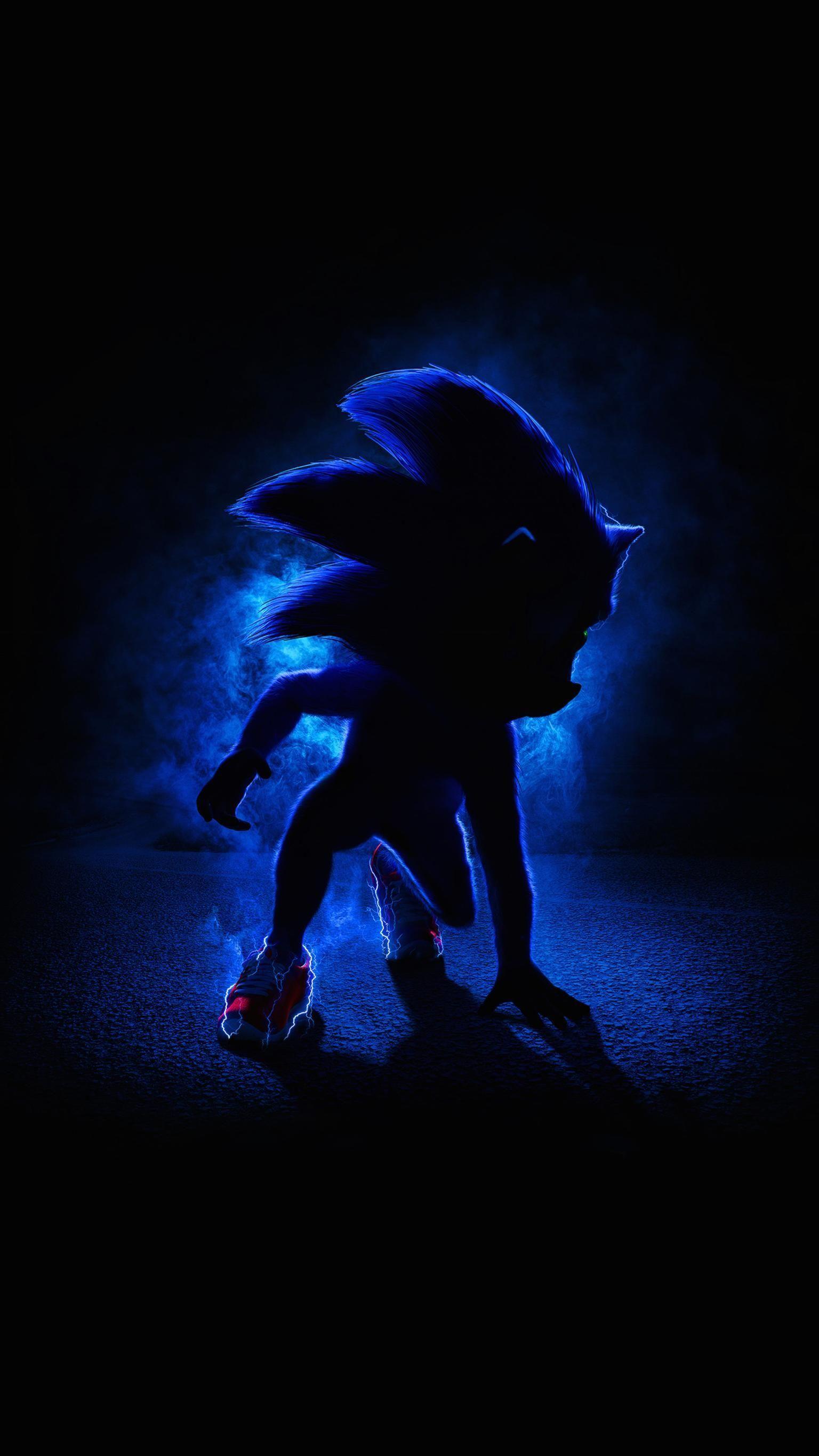 Hình nền điện thoại 1536x2732 Sonic the Hedgehog (2020).  Phim Nhím, Sonic