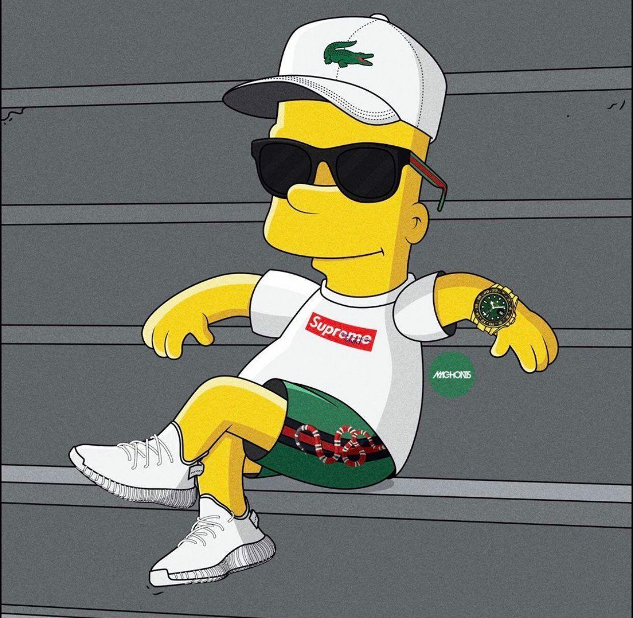 Simpsons Supreme Savage Wallpapers Top Free Simpsons Supreme