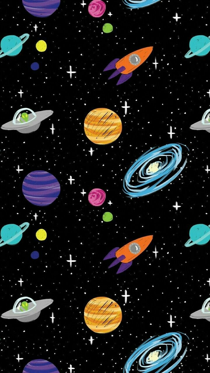 Cartoon Space Wallpapers Top Free Cartoon Space Backgrounds