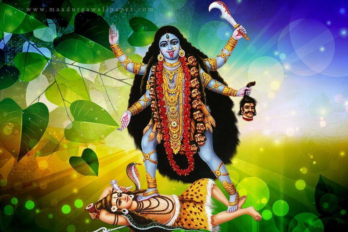 Goddess Kali Wallpapers Top Free Goddess Kali Backgrounds Wallpaperaccess
