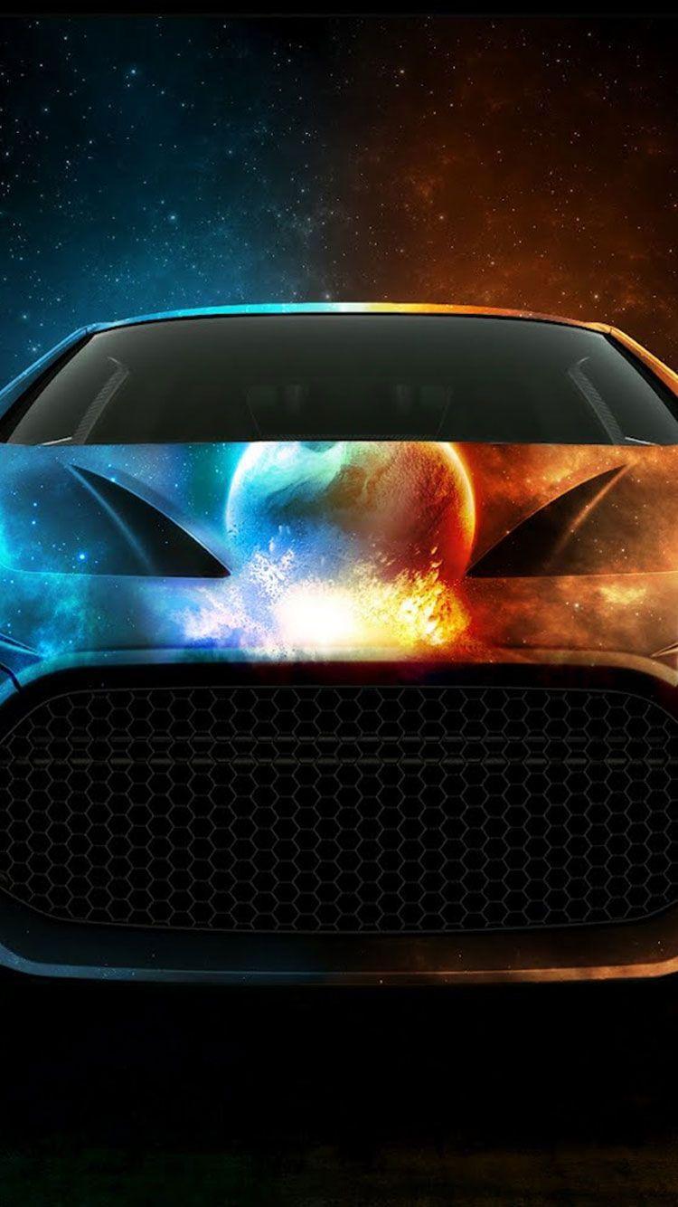750x1334 Hình nền tuyệt vời cho iPhone - Water Lamborghini And Fire - Tải xuống Hình nền & Nền HD