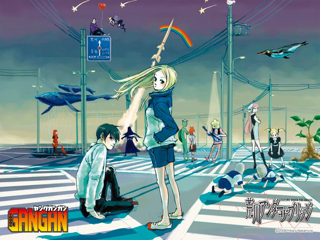 Arakawa Under The Bridge Wallpapers Top Free Arakawa Under The
