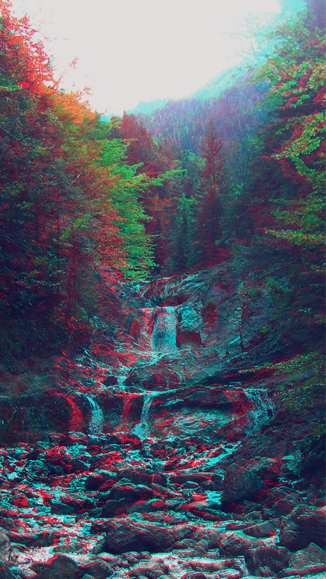 Cool Trippy Scenery Iphone Wallpapers Top Free Cool Trippy