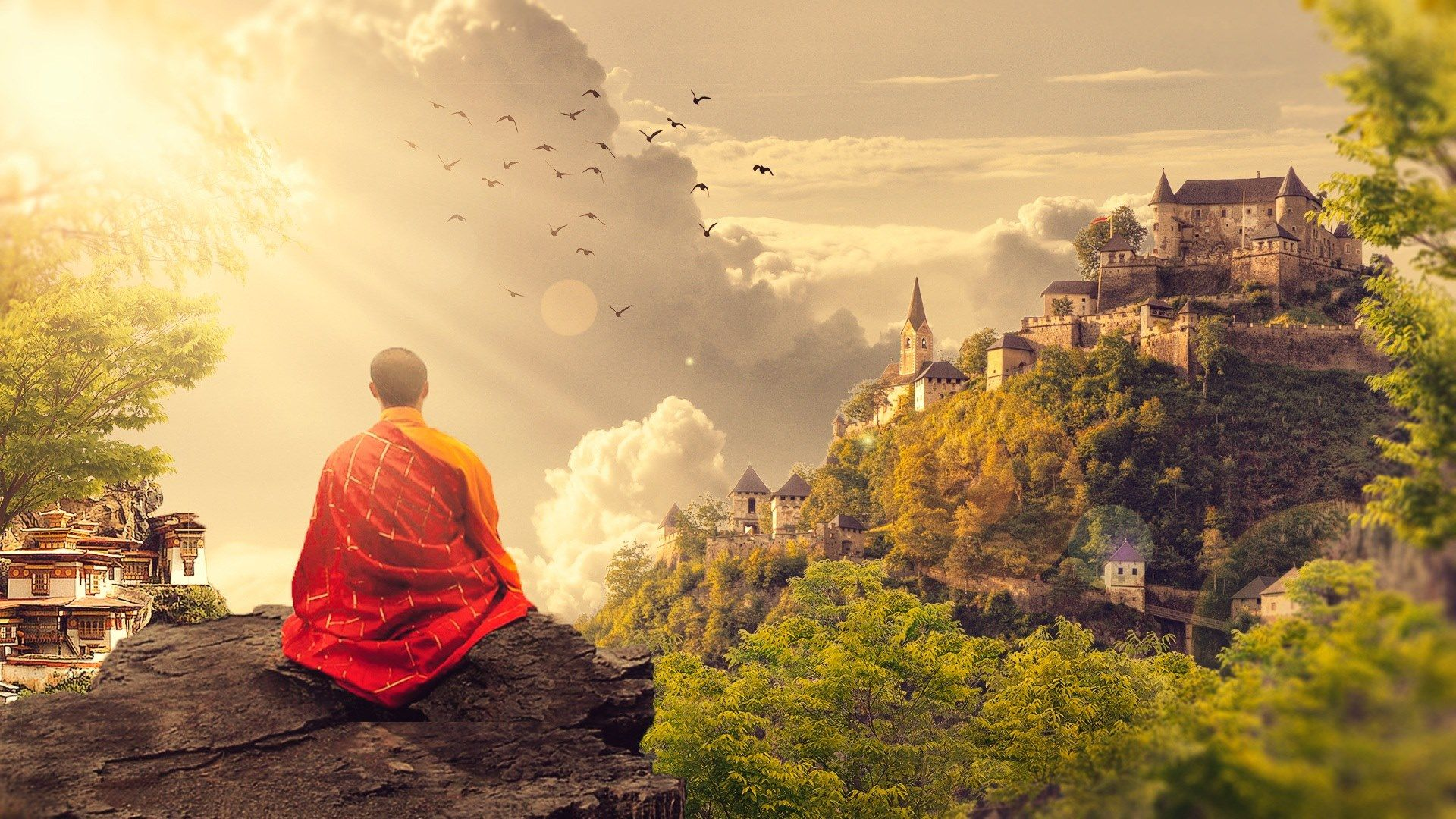 Buddhism Wallpapers - Top Free Buddhism Backgrounds
