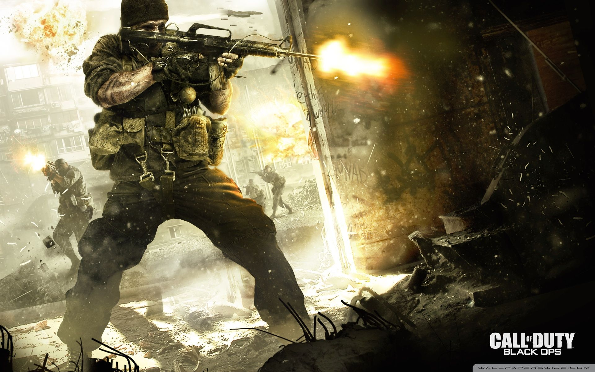 Call Of Duty 1 Wallpapers Top Free Call Of Duty 1 Backgrounds Wallpaperaccess