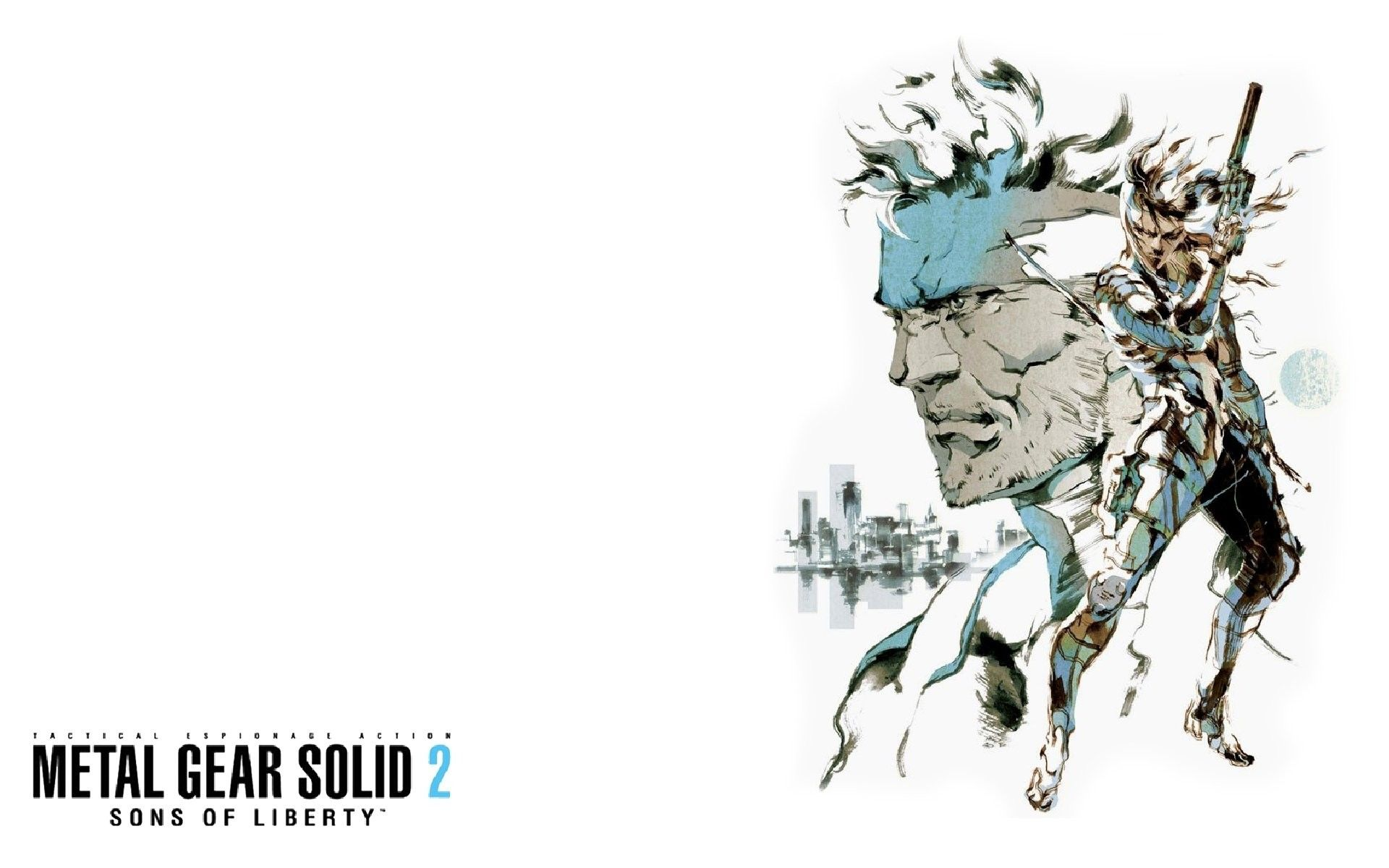 Metal Gear Solid 2: Sons of Liberty Wallpapers - Top Free Metal Gear Solid 2:  Sons of Liberty Backgrounds - WallpaperAccess