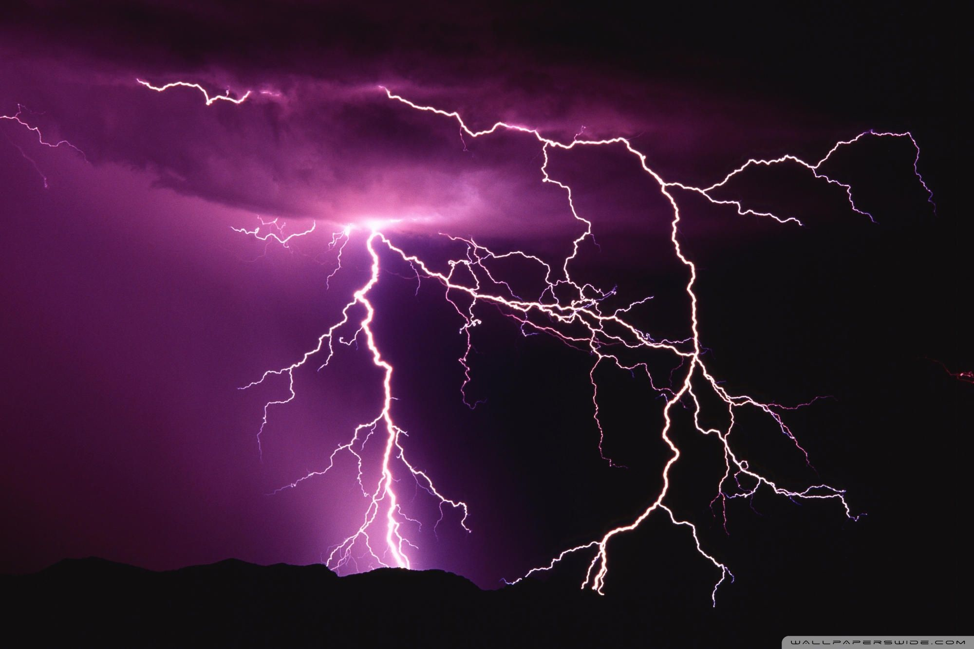 Lightning Desktop Wallpapers Top Free Lightning Desktop Backgrounds Wallpaperaccess