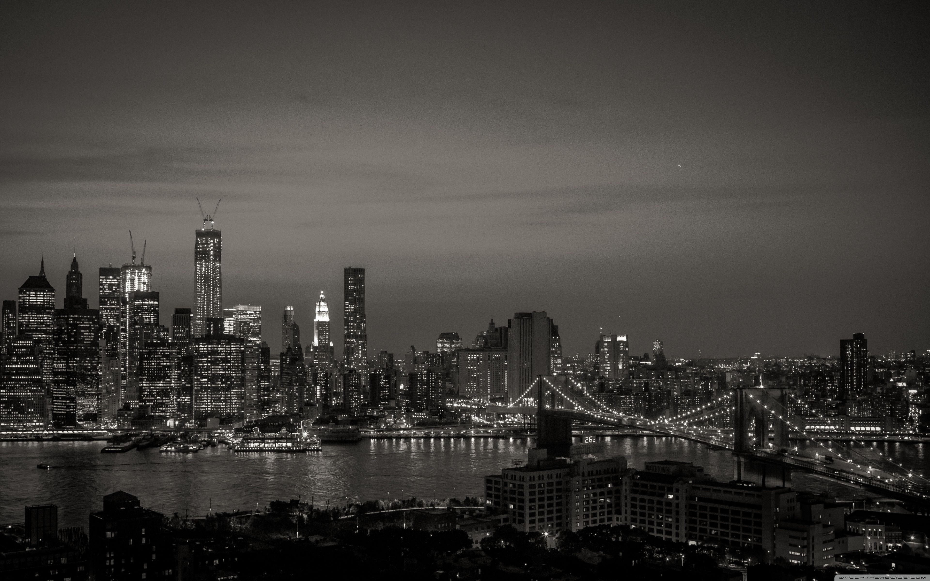 New York Black And White Wallpapers Top Free New York Black And