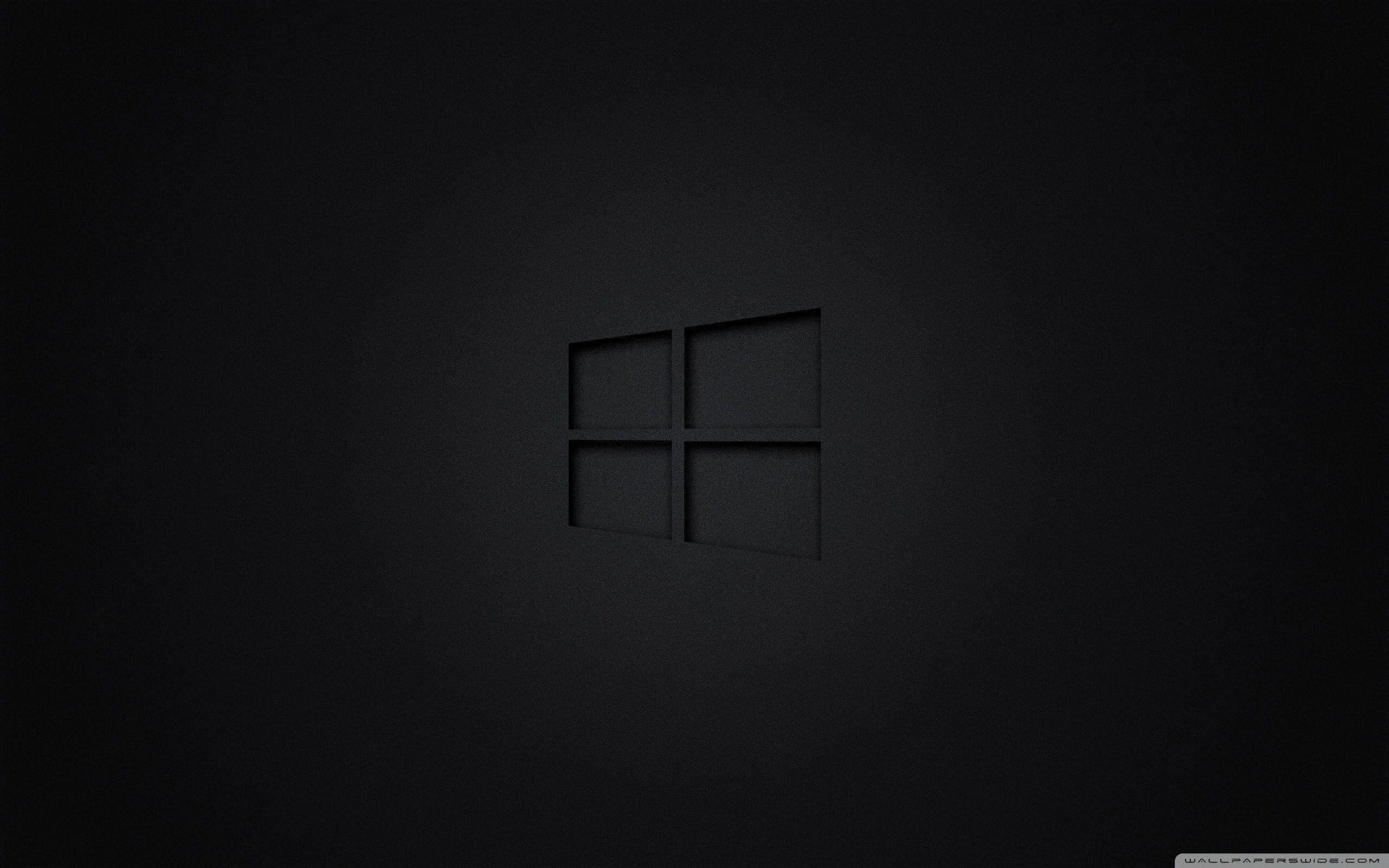 Black Windows Wallpapers - Top Free