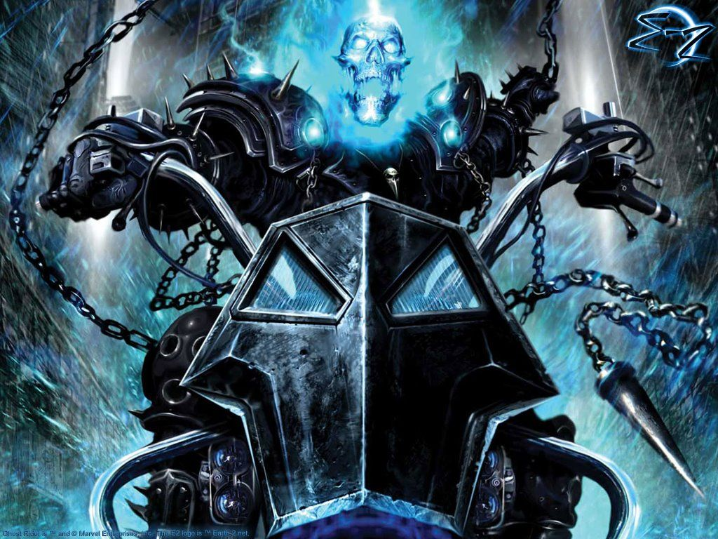 Blue Ghost Rider Wallpapers - Top Free