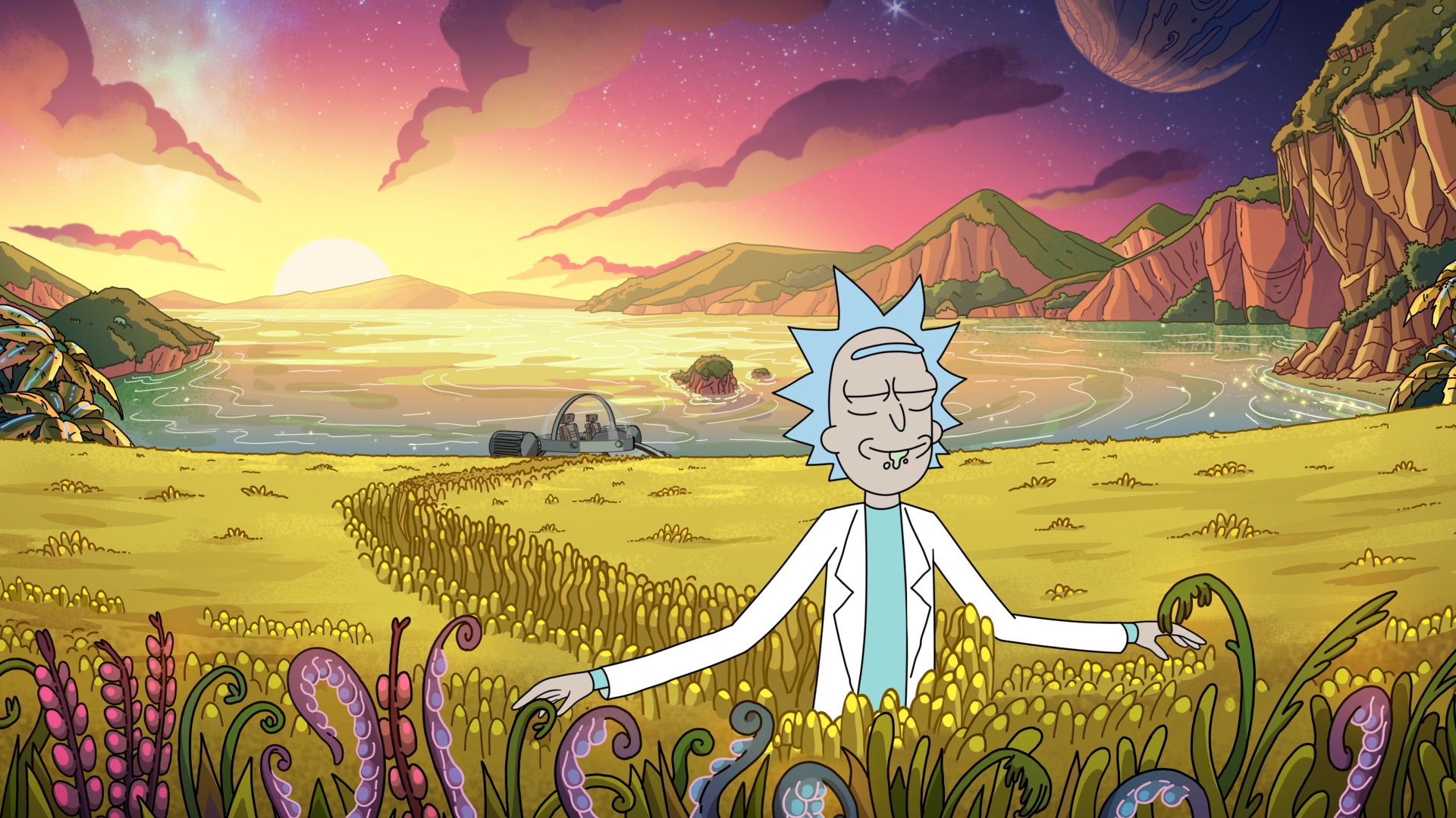 Rick and Morty Weed Wallpapers - Top Free Rick and Morty ...