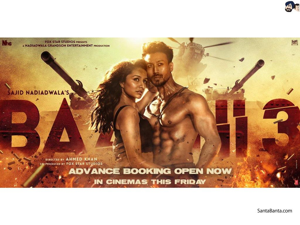 Baaghi 3 Movie Wallpapers Top Free Baaghi 3 Movie Backgrounds Wallpaperaccess