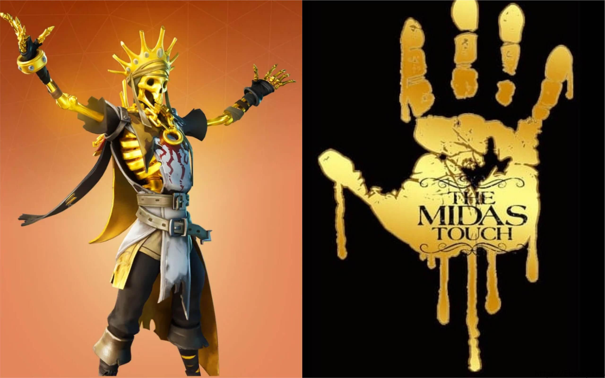 Fortnite Midas Wallpapers Top Free Fortnite Midas Backgrounds Wallpaperaccess