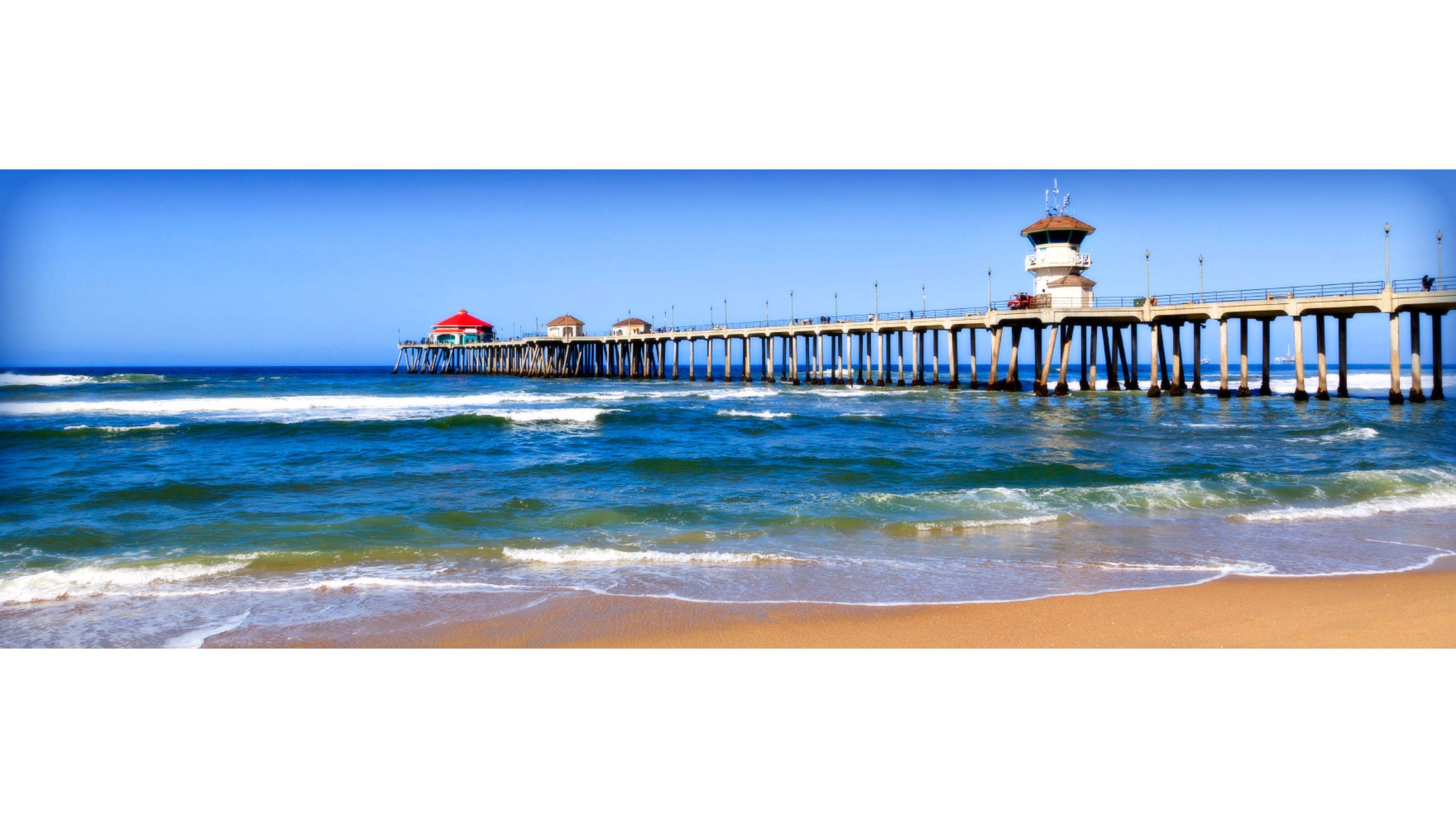 Pacific Ocean Big Sur California Beach 4k Hd Desktop: California 4K Wallpapers