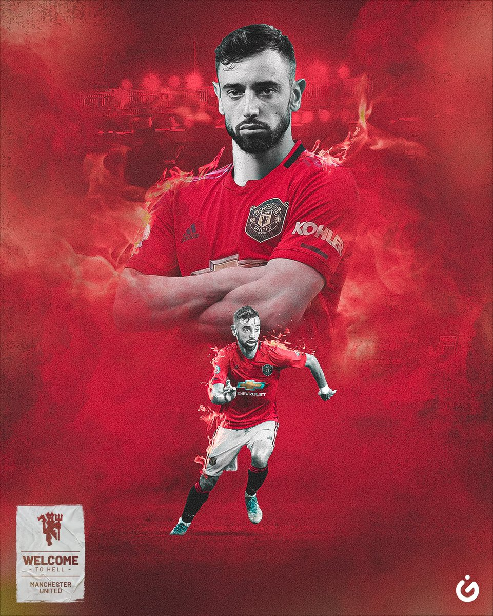 Bruno Fernandes Manchester United Wallpapers Top Free