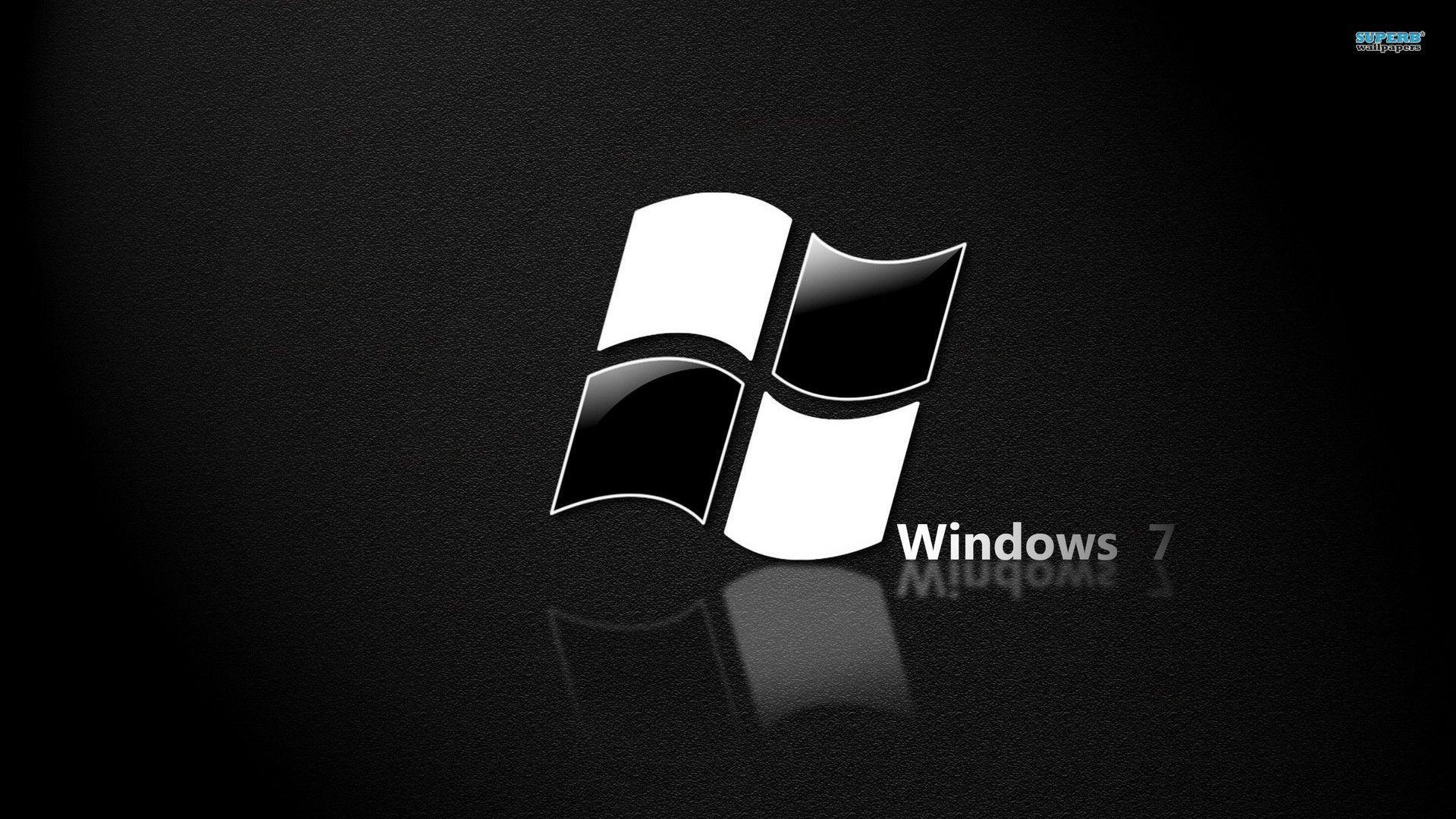 Windows 7 Black Wallpapers Top Free Windows 7 Black Backgrounds