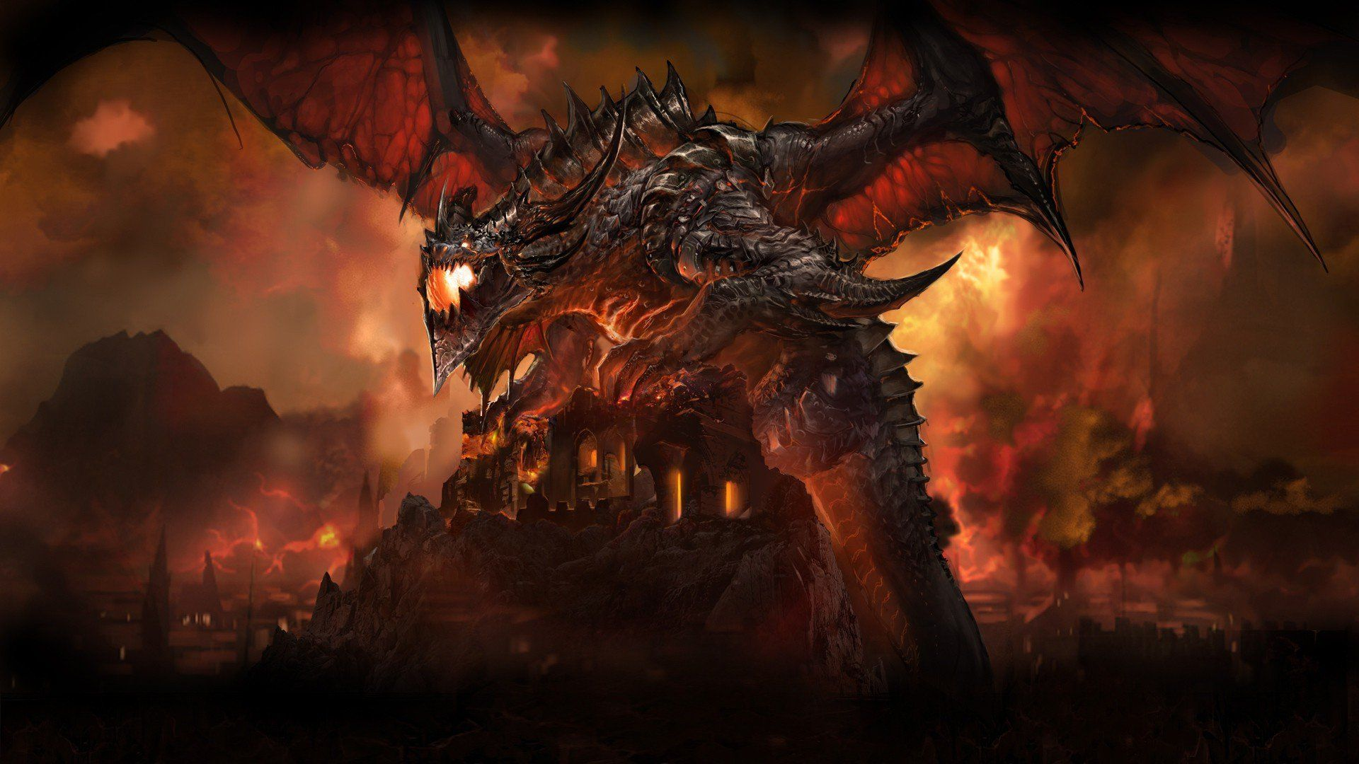 World of Warcraft Dragon Wallpapers - Top Free World of ...